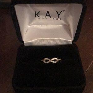 Kay jewelers infinity ring